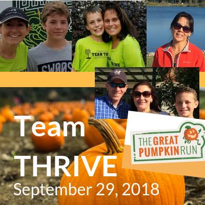 Team THRIVE The Great Pumpkin Run