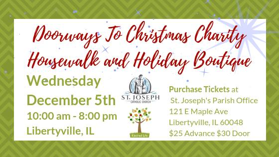 Doorways to Christmas Charity Housewalk and Holiday Boutique