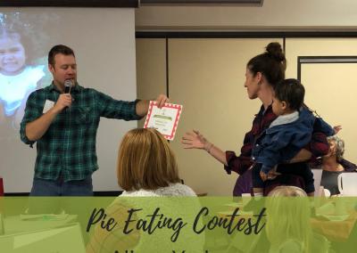 Pie Eating Winner