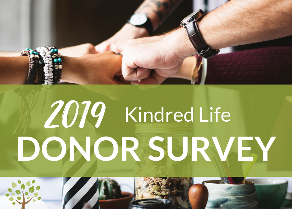 2019 Donor Survey